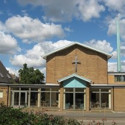 Photograph of the new Hertford Methodist Church