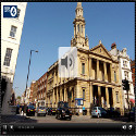 Image of the BBC iPlayer for the BMYC recording at Hinde Street for Radio 4 Sunday Morning Worship