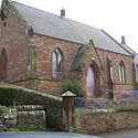 Photograph of Kirkoswald Methodist Church where the BMYC will be performing in July 2011